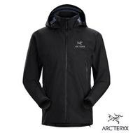 【Arcteryx 始祖鳥】男 Beta AR 輕量透氣 防水外套(黑)