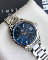 ( USED ) Tag Heuer มือสอง รุ่น Carrera Blue Dial SS Auto Cal. 9