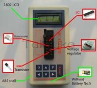Integrated Circuit Testerเครื่องทดสอบICทรานซิสเตอร์ออนไลน์MaintenanceดิจิตอลLEDทรานซิสเตอร์IC Tester