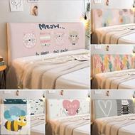 Bed Headboard Cover Elastic Bed Headboard Protective