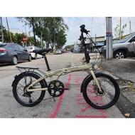 Raleigh calypso alloy folding bike