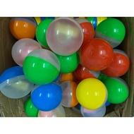 扭蛋球 半透半顏色 彩蛋 扭蛋殼