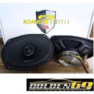 ADAMS DIGITAL JCX669 6X9 2-Way Coaxial Speaker  240w peak power