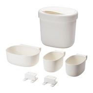 IKEA生活精品--- ONSKLIG 尿布更換桌儲物籃 4件組可掛在尿布更換桌旁方便收納和拿取