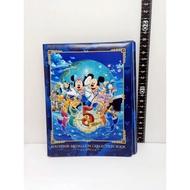 日本 東京迪士尼 米奇 米妮 紀念幣 五週 收藏冊  +45支硬幣 藍色(05