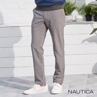 【NAUTICA】防潑水彈性透氣長褲(灰色)