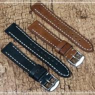 【進口真皮】22mm Samsung R380/R381/ 智慧手錶專用錶帶/手錶腕帶用錶帶