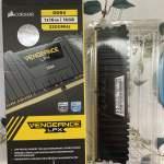 Corsair Vengeance LPX 16GB (1x16GB) DDR4-3200C16(CMK16GX4M1E3200C16)(BLACK)(散...