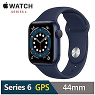 Apple Watch S6 44mm 鋁金屬錶殼配運動錶帶(GPS)