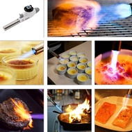 Flame Welding Gas Torch Lighter Heating Ignition Butane Portable Camping Welding Gas Torch For BBQ