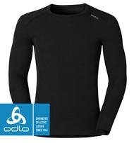 【ODLO 瑞士】保暖型機能排汗衣 保暖衣 機能衣 發熱衣 衛生衣 男款 黑色 (152022-15000)