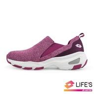 【LOTTO】女 EASY WEAR 厚底美型輕便鞋(紫-LT9AWR1237)