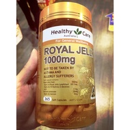 澳洲Healthy Care 蜂王乳royal jelly365粒 1000mg