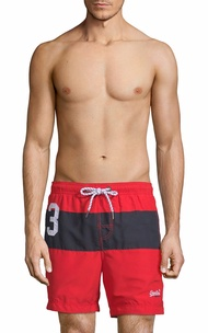 Superdry Mens  Waterpolo Banner Swim Short