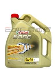 CASTROL 5W30 EDGE LL 全合成機油 5L #07184