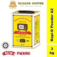 [Shop Malaysia] Kluang Coffee Cap Televisyen Kopitiam Coffee-O Powder Grade A2 (3kg x 1 tin) Coffee O Kluang TV Cap