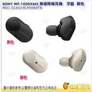 附磁吸充電盒 SONY WF-1000XM3 無線降噪耳機 黑 銀 藍牙 耳塞式 觸控通話 音樂撥放 自動感應器 公司貨