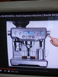 BREVILLE修理 咖啡機 磨豆機