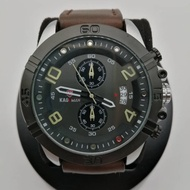 KADEMAN MEN CHRONOGRAPH WATCH LEATHER K842