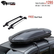 TAKA TK-420S 420L RoofBox Car Roof Box with Roof Rack Rm5