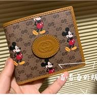 原單 古奇/Gucci 2020米奇新款 錢包 錢夾 卡夾 短夾 男女生精品錢包 專櫃新款錢包 米奇錢包