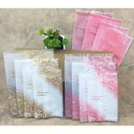 廚匠烘焙-封口機專用袋金色粉色蕾絲複合月餅袋磨砂西點曲奇餅乾袋