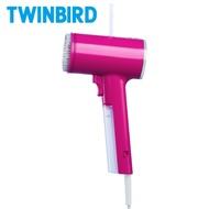 日本TWINBIRD-美型蒸氣掛燙機(桃紅)TB-G006TWP
