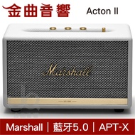 Marshall Acton II 2代 無線藍芽喇叭 音響  白色| 金曲音響