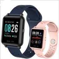 新款方形智慧手錶 支援繁體中文 方形全觸屏P8智慧手錶多功能手錶心率血壓監測 多運動模式#14740