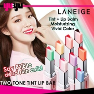 LANEIGE Two Tone Tint Lip Bar | Tint + Lip Balm | Two-tone Gradation | Moisturizing | Vivid Color