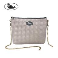 【新品到貨】泰國Bliss BKK包 編織灰 可肩背 可手拿 泰國必買 現貨供應中