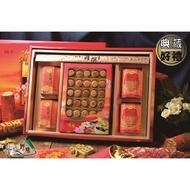 【野味食品】雅撰厚禮22(日本北海道M級干貝柱+一吉膳元貝XO醬+一吉膳香菇XO醬罐頭)(附贈年節禮盒、禮袋)春節禮盒