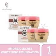 Andrea Secret Sheep Placenta Whitening Foundation Cream 70g.