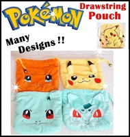 ★Pokemon Go Drawstring Pouch Bag★ figurine★ toy★ plush★ tsum tusm★children bag★storage bag★Pencil case★kids★NEW