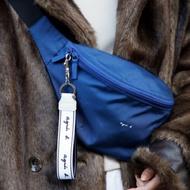 🔻特惠🔺agnes b 代購 經典b字logo 帆布腰包 斜背包