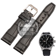 Time Machine Watch With Genuine Leather Strap Adapter Iwc