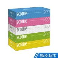 scottie 日本製優質抽取式面紙/衛生紙 200抽/盒 (箱出)