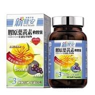 台鹽生技 膠原葉黃素軟膠囊 金盞花萃取物 1瓶(60顆)_買多優惠