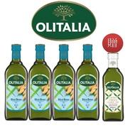 【Olitalia奧利塔】玄米油禮盒組(1000mlx2x2組-贈送特級初榨橄欖油500ml專案組)