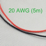 20 AWG Gauge Silicone Wire Wiring Flexible Stranded Copper Cables for RC