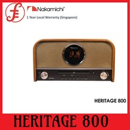 NAKAMICHI MICRO HI-FI SYSTEM WITH BLUETOOTH AND CD PLAYER * HERITAGE 800