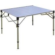 【悠遊戶外】贈桌巾 TAB-980H 加粗改良 鋁合金蛋捲桌折疊桌 速可搭