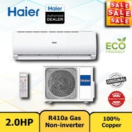 (2HP) Midea / Hisense / Haier Aircond 2.0HP with Ionizer Air Conditioner Non-inverter Penghawa Dingin