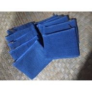 1 pack of 10 pcs Philippine handloom woven abaca jute coin purse