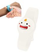 สายรัดข้อมือของเหลวเด็กผู้ใหญ่มือเจลล้างมือพร้อมทั้งเชื้อโรค