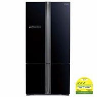 Hitachi R-WB735P5MS 4-Glass door Fridge 590L with Free Rice Cooker