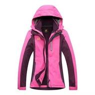 飛狼 狼爪衝鋒衣 Jack Wolfskin Gore-Tex專業防水防雨防風連帽保暖外套 登山服滑雪服機車服 女款