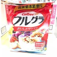 日本 卡樂比 水果麥片 早餐麥片 1KG Calbee 果富樂 好市多 costco
