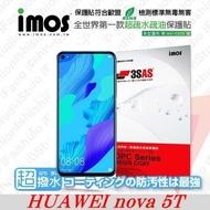 【愛瘋潮】華為 HUAWEI nova 5T iMOS 3SAS 防潑水 防指紋 疏油疏水 螢幕保護
