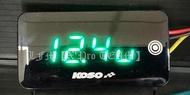 【LFM】KOSO 觸控式 超薄型電壓&溫度二合一碼錶 DRG158 FORCE SMAX 雷霆王 XMAX MT09 MT07 CB650R CBR650R MT03 R3 忍400 NINJA400 CB300R Z400 R6 MT15 Z650 小阿魯 GSXR150 電壓錶 溫度錶 水溫錶
